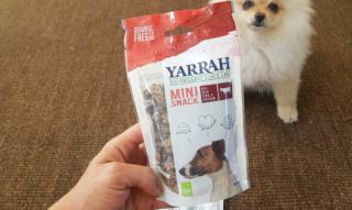 Bio-Hundefutter?! Yarrah bestellt & getestet: Trockenfutter, Kaustange & Mini-Snacks als Belohnung