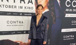 Nilam Farooq Interview am roten Teppich @ Contra Kino Premiere